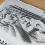 Zeichnung mit Bleistift