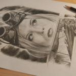 Bleistift Zeichung
