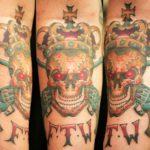 FTW Skull Tattoo
